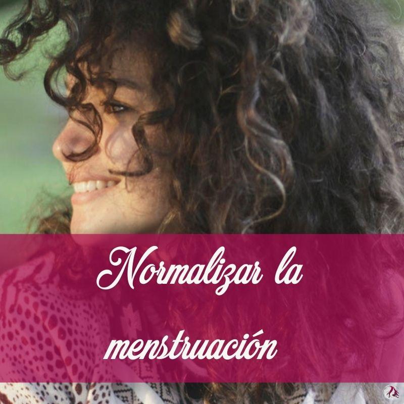 Normalizar la menstruación