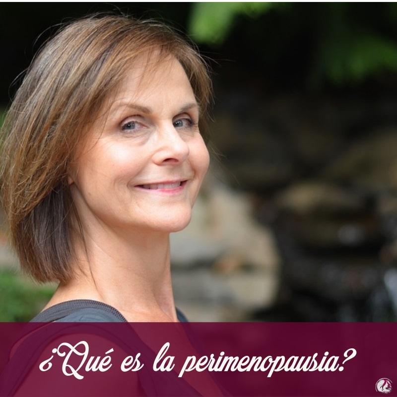 ¿Qué es la perimenopausia?